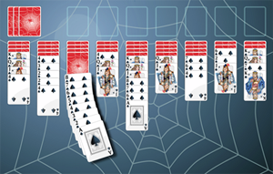Play Spider Solitaire!