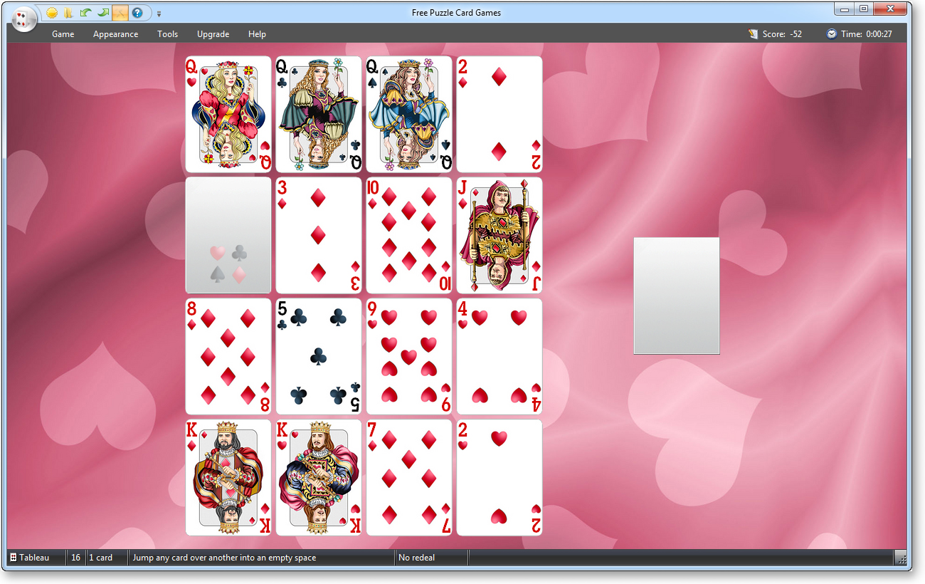 Windows 7 Free Puzzle Card Games 5.0 full